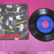 Discos de vinilo: LOS MUSTANG EL RITMO DEL SILENCIO SUBMARINO AMARILLO VERANO EN LA CIUDAD EL GRAN FLAMINGO EP. Lote 115445743