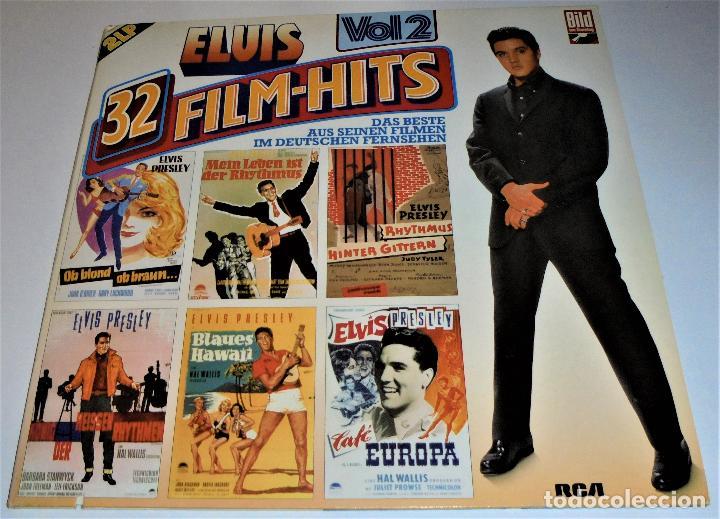 ELVIS PRESLEY - ELVIS 32 FILM-HITS VOL.2 -2 LP- GATEFOLD COVER - EX/EX - GERMANY (Música - Discos - LP Vinilo - Bandas Sonoras y Música de Actores )