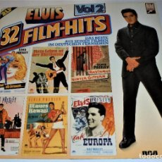 Discos de vinilo: ELVIS PRESLEY - ELVIS 32 FILM-HITS VOL.2 -2 LP- GATEFOLD COVER - EX/EX - GERMANY. Lote 115448179