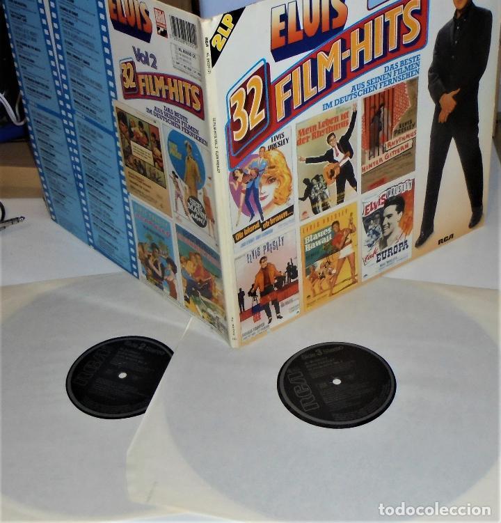 Discos de vinilo: ELVIS PRESLEY - ELVIS 32 FILM-HITS VOL.2 -2 LP- GATEFOLD COVER - EX/EX - GERMANY - Foto 2 - 115448179