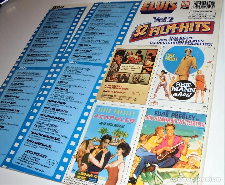 Discos de vinilo: ELVIS PRESLEY - ELVIS 32 FILM-HITS VOL.2 -2 LP- GATEFOLD COVER - EX/EX - GERMANY - Foto 3 - 115448179