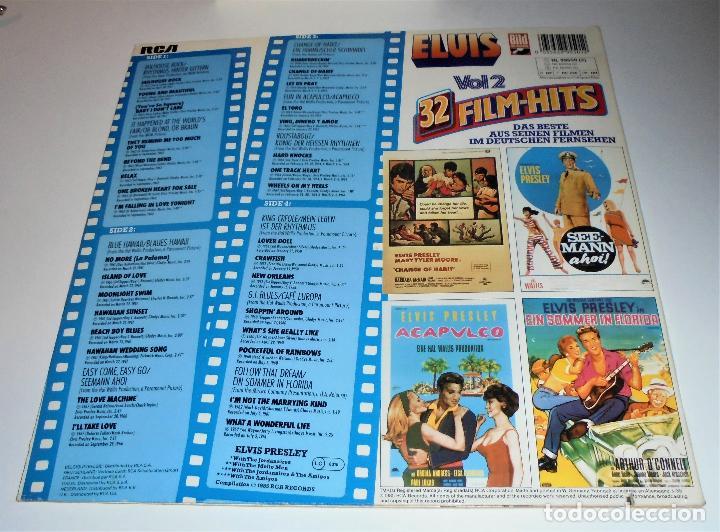 Discos de vinilo: ELVIS PRESLEY - ELVIS 32 FILM-HITS VOL.2 -2 LP- GATEFOLD COVER - EX/EX - GERMANY - Foto 6 - 115448179