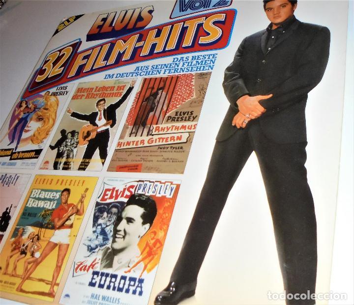 Discos de vinilo: ELVIS PRESLEY - ELVIS 32 FILM-HITS VOL.2 -2 LP- GATEFOLD COVER - EX/EX - GERMANY - Foto 7 - 115448179