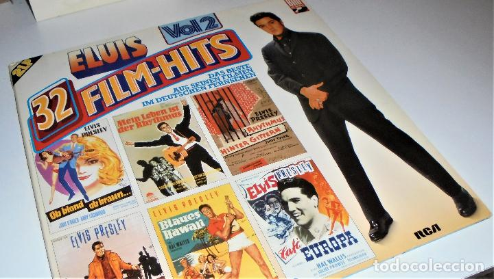 Discos de vinilo: ELVIS PRESLEY - ELVIS 32 FILM-HITS VOL.2 -2 LP- GATEFOLD COVER - EX/EX - GERMANY - Foto 8 - 115448179
