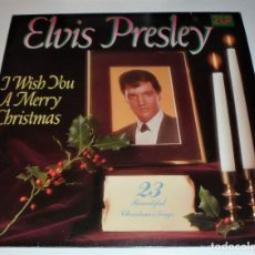 Discos de vinilo: ELVIS PRESLEY - I WISH YOU A MERRY CHRISTMAS - 2 LP GATEFOLD VG+ // GERMANY. Lote 115454071