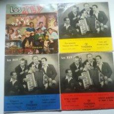 Discos de vinilo: LOTE CON 4 EP´S DE LOS XEY. Lote 115457563