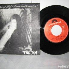 Disques de vinyle: THE JAM 45 RPM BITTEREST PILLS POLYDOR. Lote 115460343
