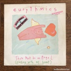Discos de vinilo: EURYTHMICS - THERE MUST BE AN ANGEL (PLAYING WITH MY HEART). Lote 115460671