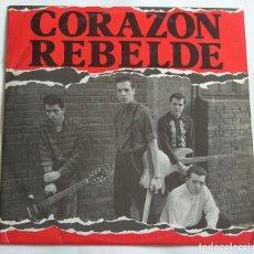 Discos de vinilo: CORAZÓN REBELDE. DRO, 1984. Lote 115461447