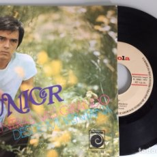 Discos de vinilo: JUNIOR. MIENTRAS VAS GIRANDO. SINGLE 1970. NOVOLA. Lote 115468920