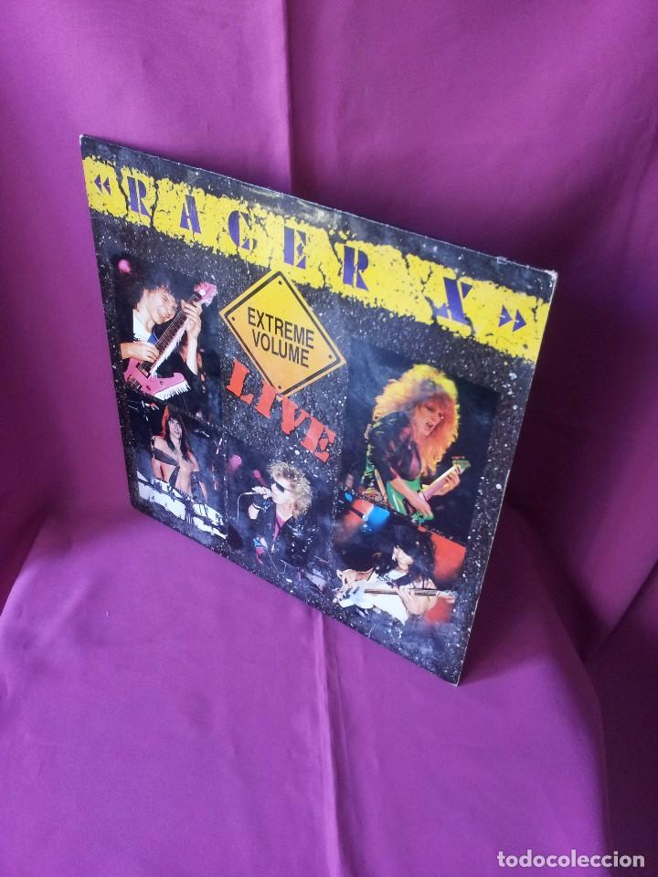 RACER X - LP, EXTREME VOLUMEN, LIVE - ROADRUNNER 1988 (Música - Discos - LP Vinilo - Heavy - Metal)