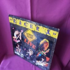Discos de vinilo: RACER X - EXTREME VOLUMEN, LIVE - ROADRUNNER 1988. Lote 115472003