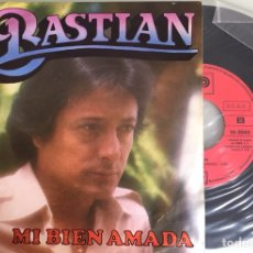 Discos de vinilo: BASTIAN. MI BIEN AMADA. PROMO SINGLE 1979. Lote 115473538