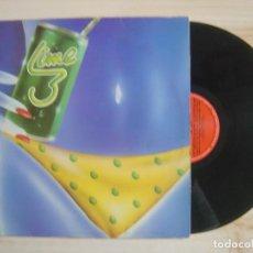 Discos de vinilo: LIME III - MAXISINGLE 33 - ESPAÑOL 1983 - POLYDOR. Lote 115480511