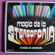 Discos de vinilo: LP - MAGIA DE LA STEREOFONIA - VARIOS (CAJA CON 8 LP'S, SELECCIONES READER'S DIGEST 1975). Lote 115481483