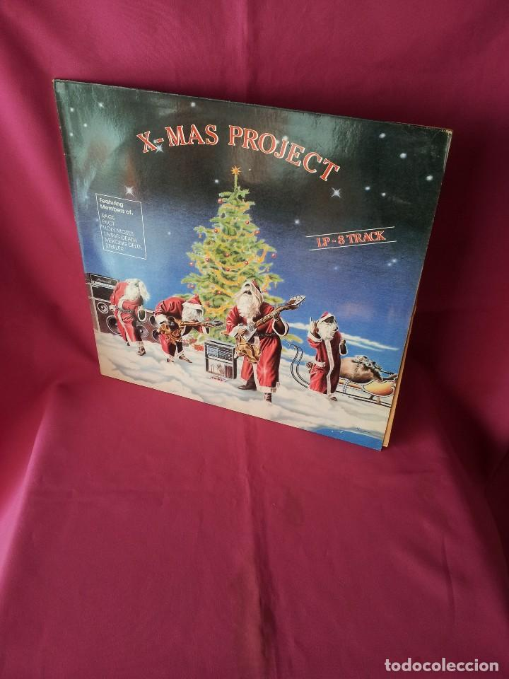 X-MAS PROJECT - FEATURING MEMBERS OF: RAGE, FACT, HOLY MOSES, LIVING DEATH, MEKONG DELTA Y STEELER (Música - Discos - LP Vinilo - Heavy - Metal)