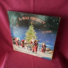 Discos de vinilo: X-MAS PROJECT - FEATURING MEMBERS OF: RAGE, FACT, HOLY MOSES, LIVING DEATH, MEKONG DELTA Y STEELER . Lote 115481991