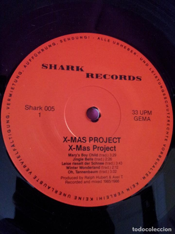Discos de vinilo: X-MAS PROJECT - FEATURING MEMBERS OF: RAGE, FACT, HOLY MOSES, LIVING DEATH, MEKONG DELTA Y STEELER - Foto 4 - 115481991