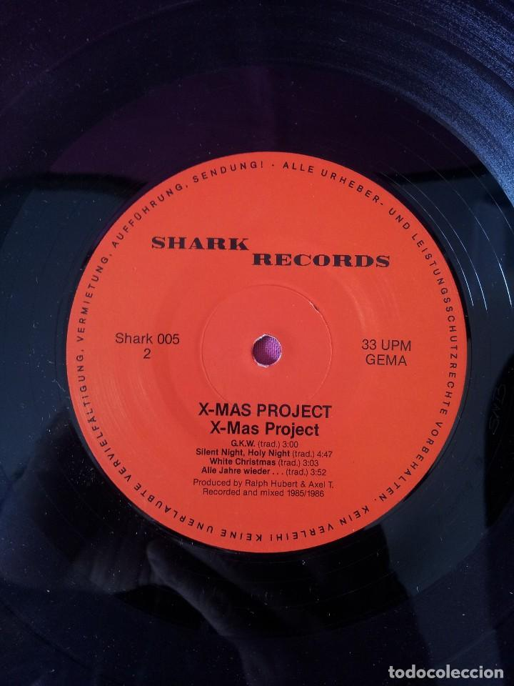 Discos de vinilo: X-MAS PROJECT - FEATURING MEMBERS OF: RAGE, FACT, HOLY MOSES, LIVING DEATH, MEKONG DELTA Y STEELER - Foto 6 - 115481991