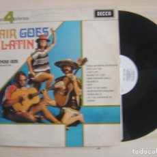 Discos de vinilo: EDMUNDO ROS AND HIS ORCHESTRA - HAIR GOES LATIN - PHASE 4 STEREO - LP INGLES 1969 - DECCA. Lote 115483363