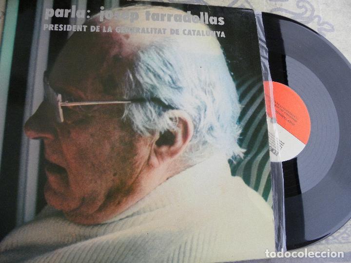 PARLA: JOSEP TARRADELLAS PRESIDENT DE LA GENERALITAT -LP 1977 PROMO -BUEN ESTADO (Música - Discos de Vinilo - EPs - Otros estilos)