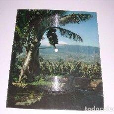 Discos de vinilo: POSTAL ANTIGUA DE CANARIAS CON CANCIÓN ISA PALMERA. Lote 115509799