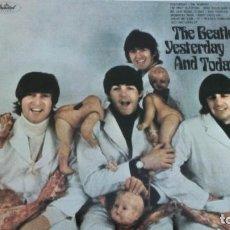 Discos de vinilo: THE BEATLES YESTERDAY AND TODAY LP VINILO ROJO. Lote 125825835