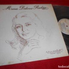 Discos de vinilo: MARIA DOLORES PRADERA LP 1983 ZAFIRO EDICION ESPAÑOLA SPAIN . Lote 115513603