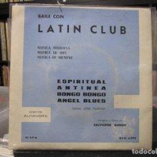 Discos de vinilo: LATIN CLUB - ESPIRITUAL ( EP) . Lote 115517119