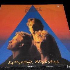 Discos de vinilo: THE POLICE- ZENYATTA MONDATTA CON ENCARTE . Lote 115517323
