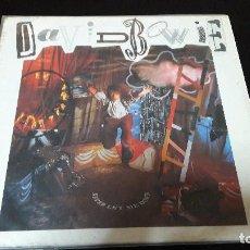 Discos de vinilo: DAVID BOWIE – NEVER LET ME DOWN SELLO: EMI AMERICA – 074 2407461, EMI AMERICA – 074 24 0746 1 . Lote 115518955