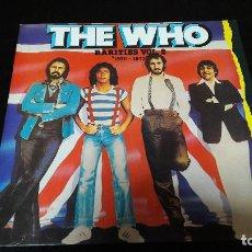 Discos de vinilo: THE WHO ?– RARITIES VOL. 2 1970-1973 SELLO: POLYDOR ?– 23 11 132 ED. ESPAÑOLA BUEN ESTADO. Lote 115519831