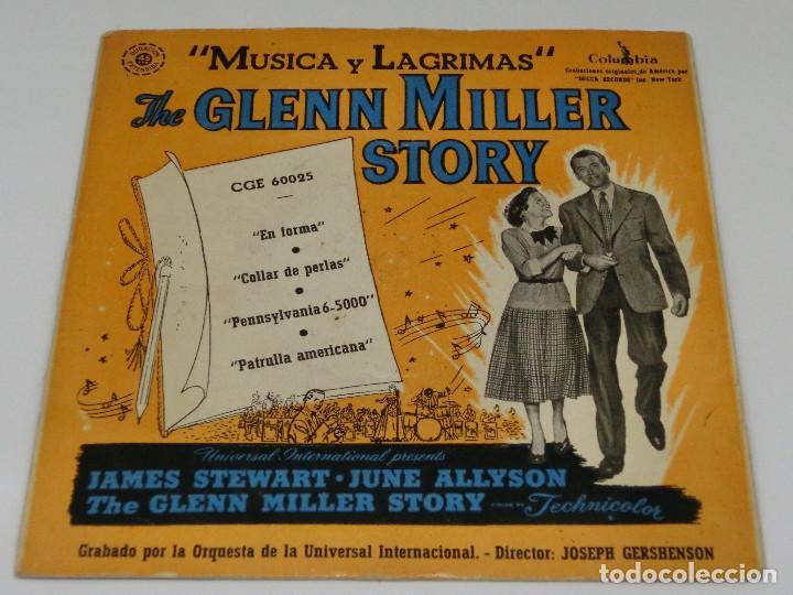 71deb376ae5a 4 fotos SINGLE - THE GLENN MILLER STORY - MUSICA Y LÁGRIMAS - EN FORMA - COLLAR  DE ...
