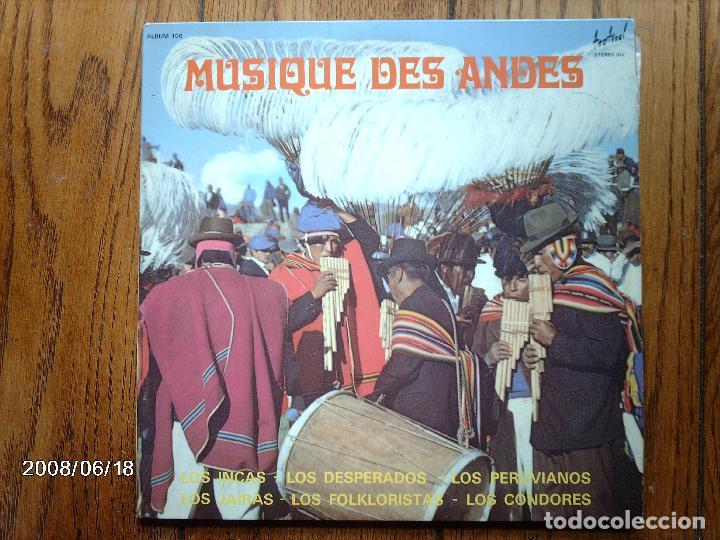 Musica De Los Andes Los Incas Los Desperado Buy Vinyl Records Lp Latin American Music At Todocoleccion 115522699