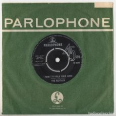 Discos de vinilo: THE BEATLES I WANT TO HOLD YOUR HAND / THIS BOY ORIG 1963 1ST PRESS UK SINGLE R5084. Lote 115523147