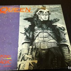 Discos de vinilo: QUEEN ‎– A KIND OF MAGIC (EXTENDED VERSION) SELLO: EMI ‎– 052-2011196, EMI ‎– 052 20 1119 6 . Lote 115524031