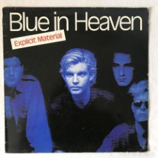 Discos de vinilo: BLUE IN HEAVEN – EXPLICIT MATERIAL. Lote 115528343
