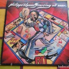 Discos de vinilo: DISCO DE PHILIPPE WYNNE. STARTING ALL OVER.. Lote 115528471