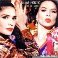 Discos de vinilo: AZUCAR MORENO, OYE COMO VA_GUAJIRA - SINGLE PROMO 1990. Lote 115529867