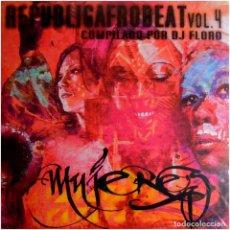 Discos de vinilo: VVAA (DJ FLORO) - REPUBLICAFROBEAT VOL. 4 - MUJERES - LP SPAIN 2017 - KASBA MUSIC KM00817. Lote 115529919