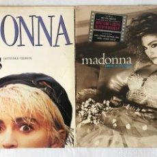 Discos de vinilo: 2 DISCOS - MADONNA – LIKE A VIRGIN LP - WHO S THAT GIRL ( MAX 12). Lote 115529979