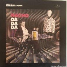 Discos de vinilo: NACHO DOGAN . DA DA DA. MAXISINGLE MERCURY 1982. Lote 115538956