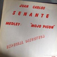 Discos de vinilo: CACO SENANTE. MEDLEY MOJO PICÓN. PROMO ESPECIAL DISCOTECA. UNA CARA. 1982. INCLUYE BIOGRAFÍA. Lote 115543274