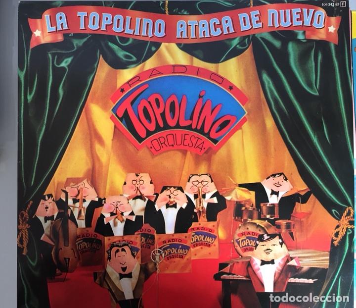 RADIO TOPOLINO ORQUESTA. LA TOPOLINO ATACA DE NUEVO. EXPLOSIÓN 1982. NUEVO (Música - Discos - LP Vinilo - Orquestas)