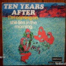 Discos de vinilo: TEN YEARS AFTER - I´M COMING ON + THE LIES IN THE MORNING . Lote 115544871