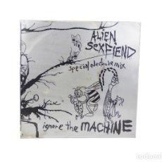 Discos de vinilo: MAXI, LP, BLANCO. IGNORE THE MACHINE (SPECIAL ELECTRODE MIX) ALIEN SEX FIEND. (F/F). Lote 115546475