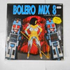 Discos de vinilo: BOLERO MIX. 8. A QUIQUE TEJADA MIX. DOBLE LP. TDKLP. Lote 115558579