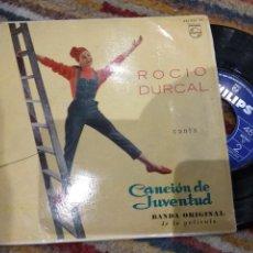 Discos de vinilo: EP ROCÍO DÚRCAL CANCIÓN DE JUVENTUD EP BANDA ORIGINAL BUEN SONIDO. Lote 115563859