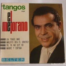 Discos de vinilo: EL MEJORANO - TANGOS - UN TRAGO MAS - EP 1966. Lote 115563871
