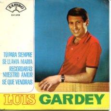 Discos de vinilo: LUIS GARDEY / TU PARA SIEMPRE + 3 (EP 1965). Lote 115569007